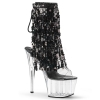 ADORE-1017SQF Clear/Black Sequin